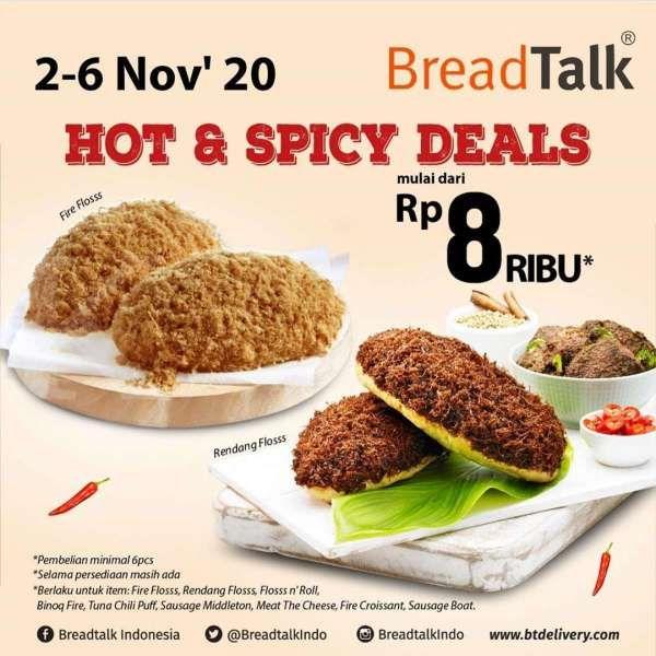 Promo BreadTalk periode 2-6 November 2020