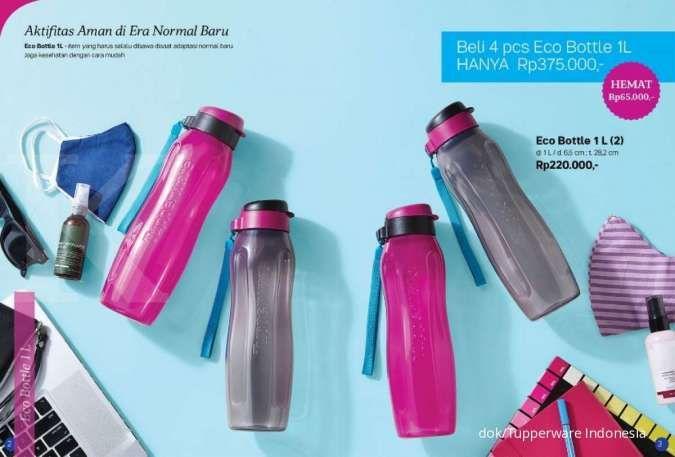 Tupperware promo Agustus 2020, khusus peralatan minum