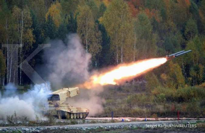 Rusia siapkan peluncur roket baru jenis Tornado-S, seperti apa kemampuannya?