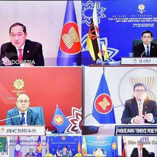 ASEAN Respons Positif Pentingnya Mendorong Pertumbuhan Rantai Pasok Global & Peningkatan Fasilitasi Perdagangan