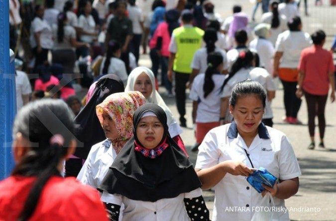 Tertinggi di Bodebek, UMK Kabupaten Bekasi tahun 2021 naik jadi Rp 4,79 juta sebulan