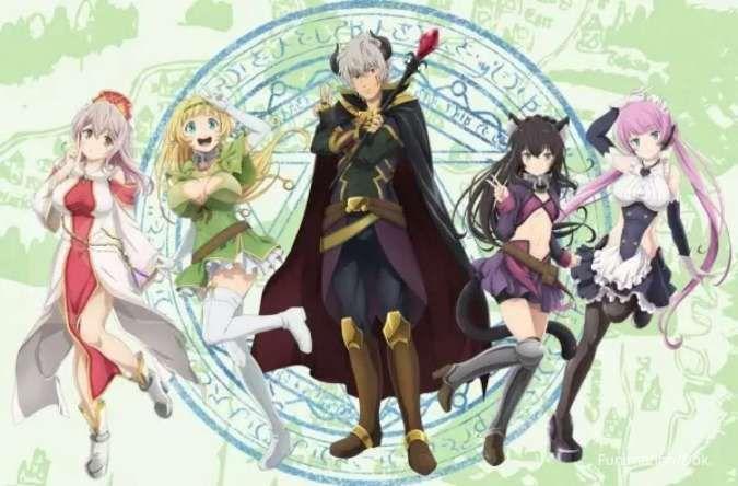 Sinopsis dan jadwal anime How Not to Summon a Demon Lord Season 2 di iQIYI