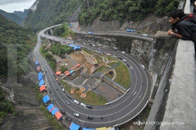 Mau mudik ke Sumatra Barat? Waspadai empat titik rawan longsor berikut