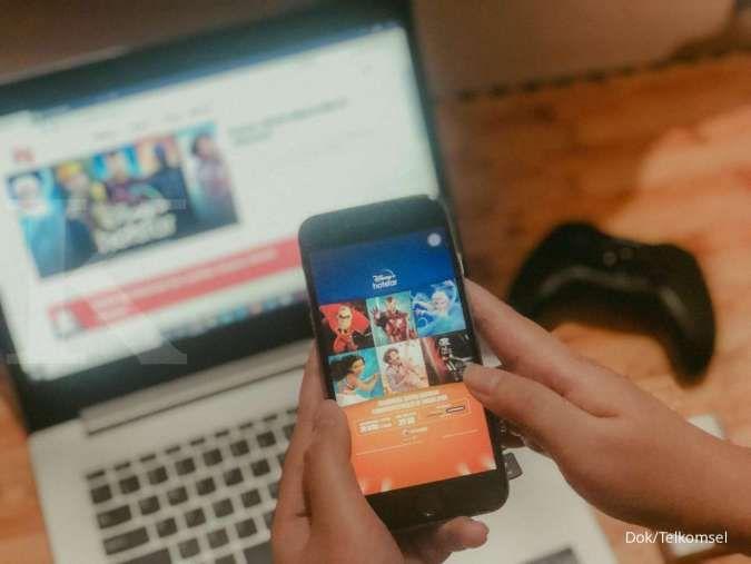 Telkomsel meraup untung dari banjir layanan video on demand di Indonesia