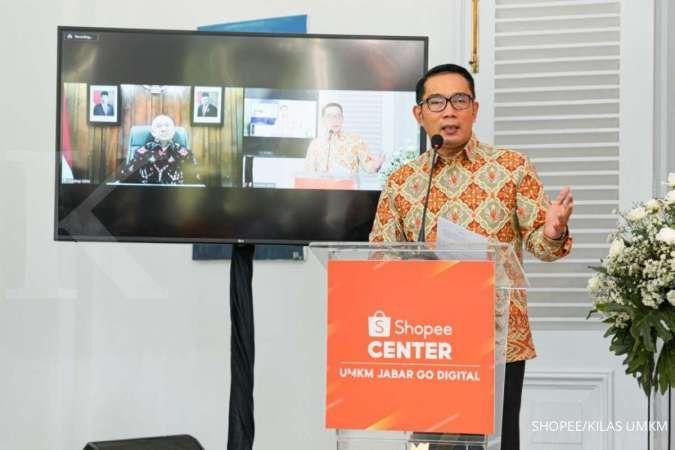 Di Hadapan Teten, Ridwan Kamil Minta E-Commerce Lain Tiru Kebijakan Shopee