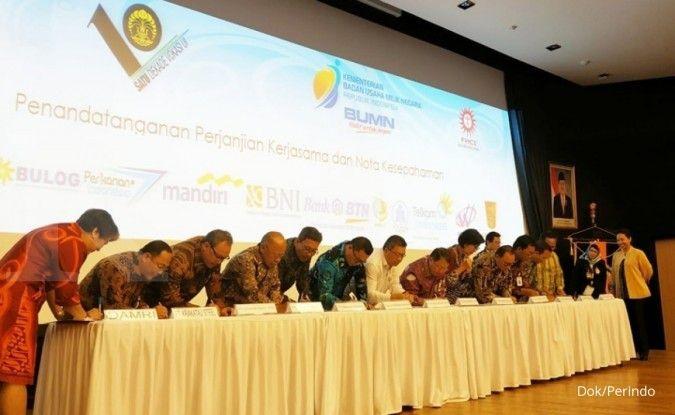 Gandeng Universitas Indonesia, Perum Perindo dan 12 BUMN jalankan program vokasi