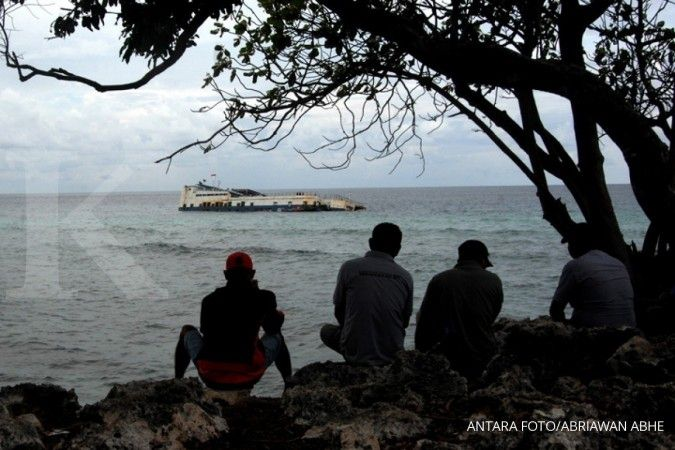 Kapal kargo berbendera Iran tenggelam di perairan Pulau Sambu, Batam