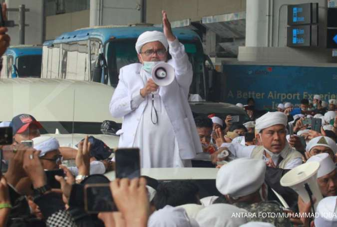 Rizieq Shihab tinggalkan Rumah Sakit Ummi Bogor, ini penjelasan FPI