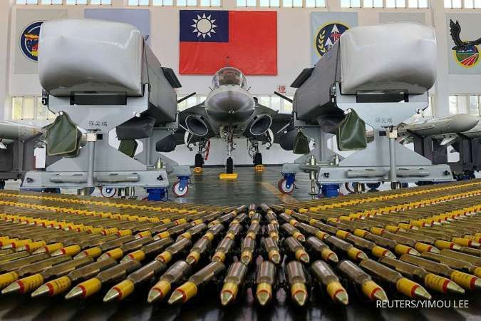 Persenjataan dan jet tempur angkatan udara Taiwan