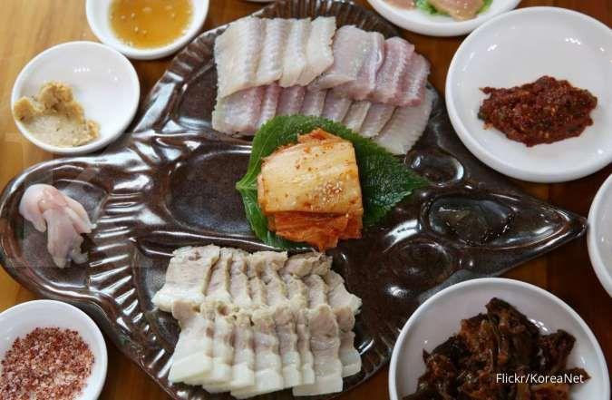 Makanan Korea Hongeo