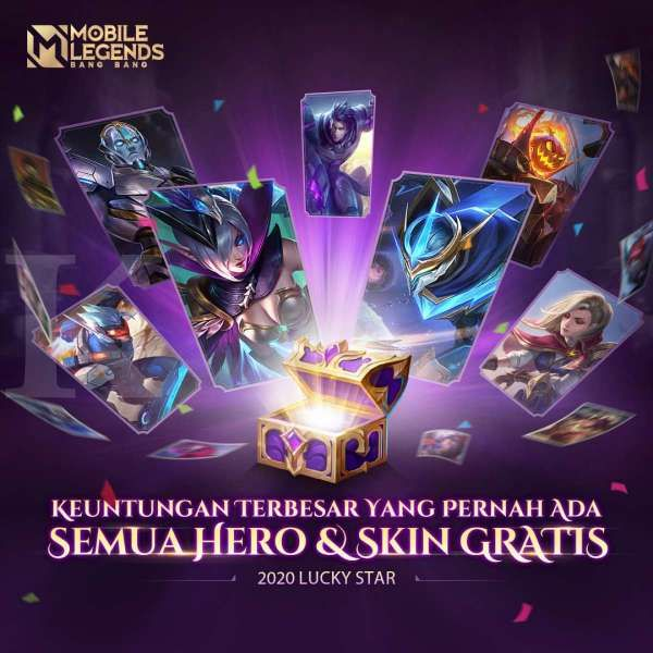 Event Lucky Star 2020 - Mobile Legends