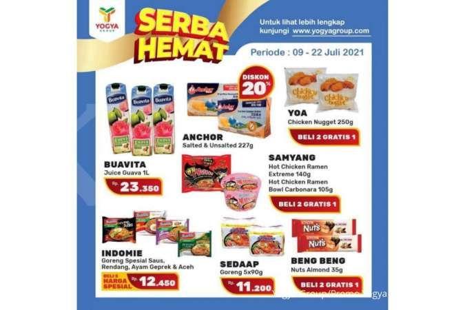 Promo Yogya Supermarket weekday 22 Juli 2021, Serba Hemat!