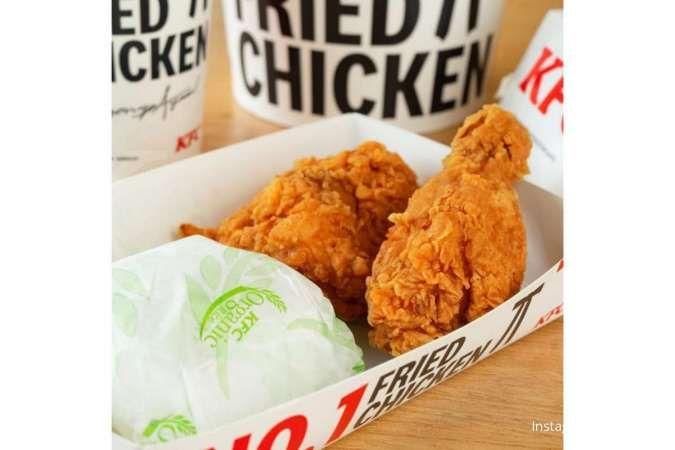 Promo KFC hari ini 24 Juli 2021: Paket Super Deal Rp 45.455