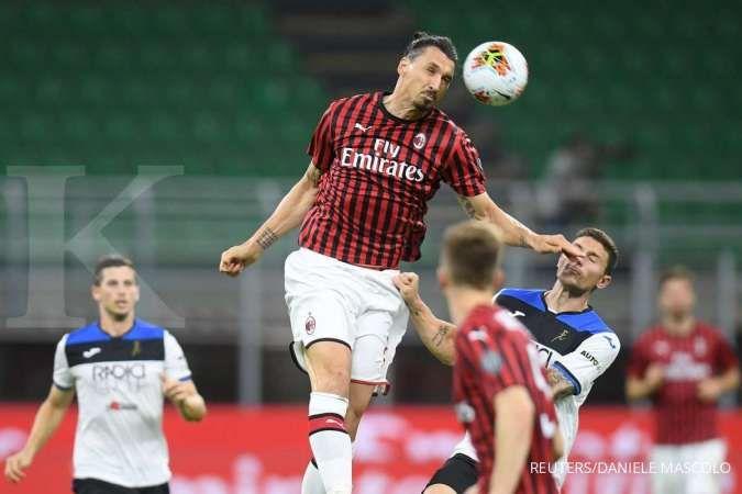 Zlatan Ibrahimovic jelang AC Milan vs Atalanta di Liga Italia Serie A