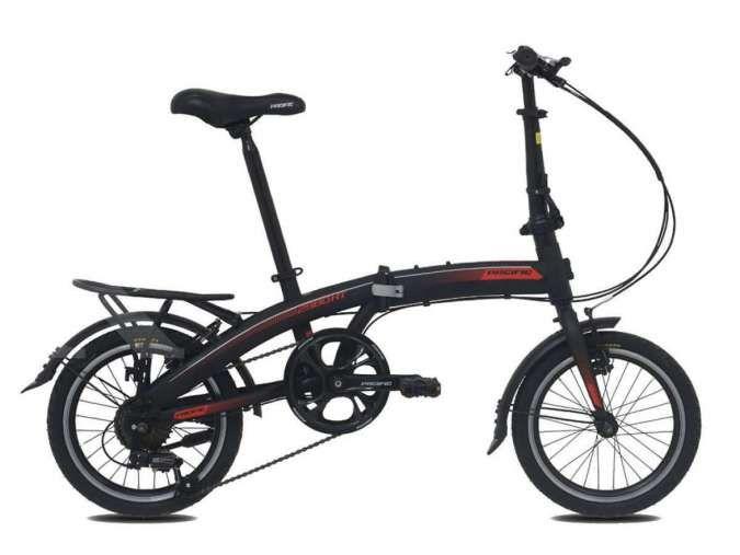 Cocok untuk pemula, harga sepeda lipat Pacific 2980 HT 16