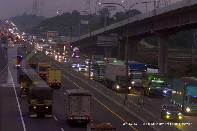 Jasa Marga (JSMR) berlakukan rekayasa lalu lintas di Tol Cikampek selama libur Paskah