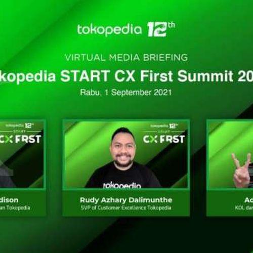 Hari Pelanggan Nasional: Tokopedia Gelar Start Customer Experience First Summit, Dorong Pengalaman Terbaik Pelanggan