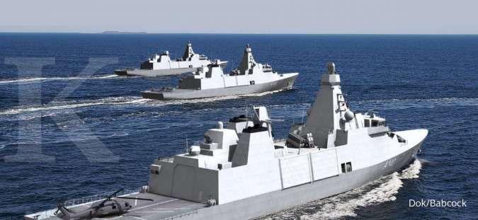 Terkuak spesifikasi kapal perang Arrowhead 140 yang diboyong Prabowo dari Inggris