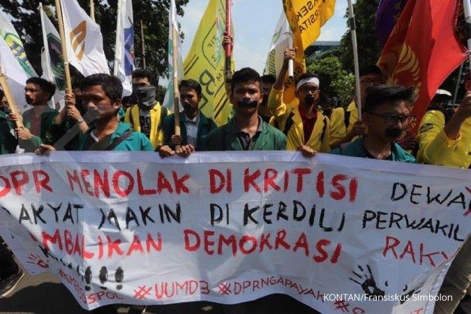 Kepolisian siapkan 9.000 personel amankan demo di depan Istana