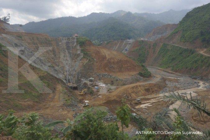 Proyek Bendungan Tukul di Pacitan menelan biaya Rp 916 miliar