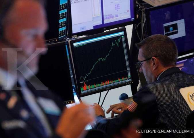 Wall Street berseri, terdorong sentimen rilis laporan keuangan emiten yang cemerlang