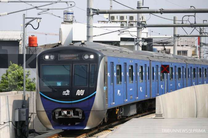Berikut jadwal operasional MRT Jakarta selama masa PPKM level 4