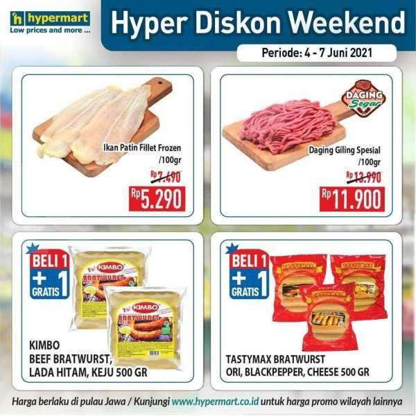 Baru rilis! Promo JSM Hypermart 4-7 Juni 2021, Hyper Diskon Weekend