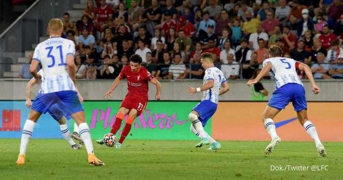 Hasil pramusim Hertha Berlin vs Liverpool, Die Alte Dame menang 4-3 dari The Reds