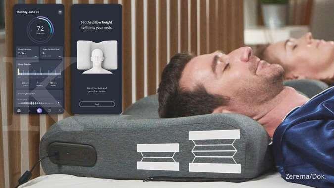 Canggih! Bantal pintar Zerema ini bisa meningkatkan kualitas tidur
