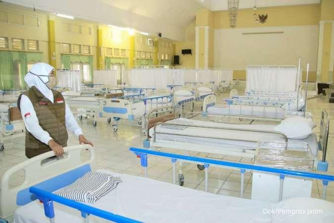 Tambahan tempat tidur jadi kunci jumlah pasien sembuh di Jatim lewati yang dirawat
