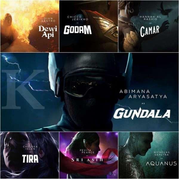 Jagat Sinematik Bumilangit, proyek ambisius film superhero Indonesia