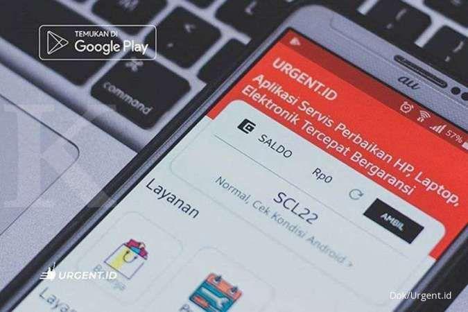 Lewat aplikasi servis elektronik berharap konsumen menjadi lebih banyak