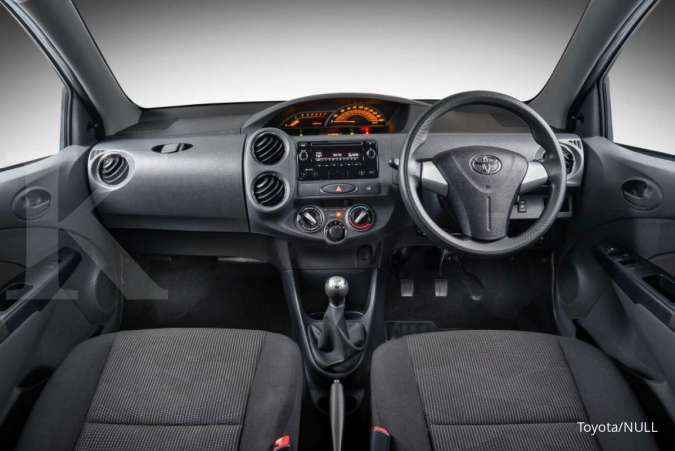 Harga mobil bekas Toyota Etios mulai Rp 70 juta (Bagian Interior)