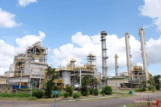 Kilang Polypropylene Pertamina di Plaju, Palembang, Sumatera Selatan.