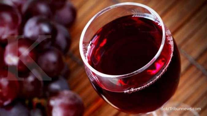 Perhatian, ini efek samping minum anggur merah berlebihan untuk kesehatan tubuh