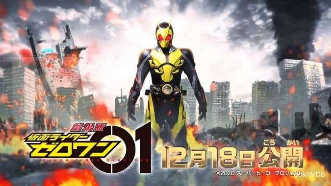 Ini jadwal tayang baru film Kamen Rider Zero One dan Kamen Rider Saber