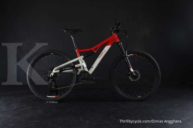 Thrill Oust T120 3.0 Red-White