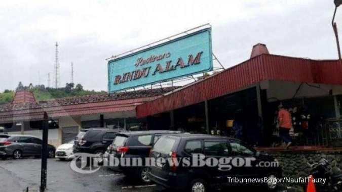 Berdiri sejak 1980, Restoran Rindu Alam di Puncak Bogor kini resmi tutup
