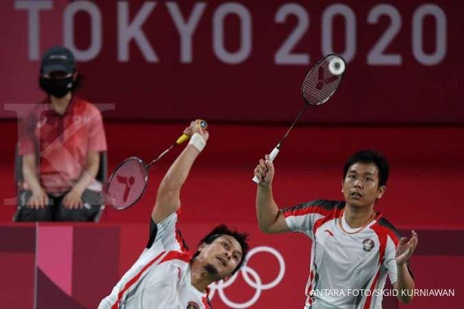 Hasil Badminton Olimpiade Tokyo 2020: The Minions pulang, The Daddies ke semifinal