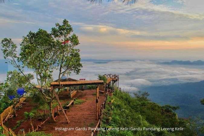 Gardu Pandang Lereng Kelir, rekomendasi tempat wisata alam di Semarang
