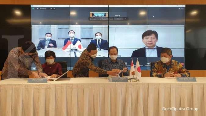 Ciputra Group menggandeng Toda Corporation jadi mitra dan investor The Newton 2