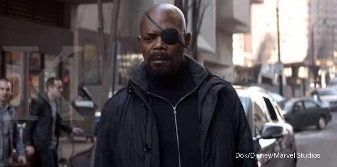 Marvel kabarnya garap series baru Samuel L. Jackson sebagai Nick Fury di Disney+
