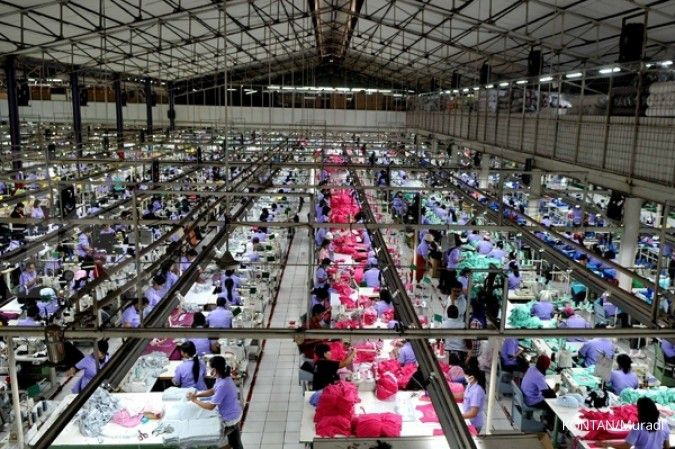 Sektor manufaktur Indonesia tak kuat mencuil peluang perang dagang