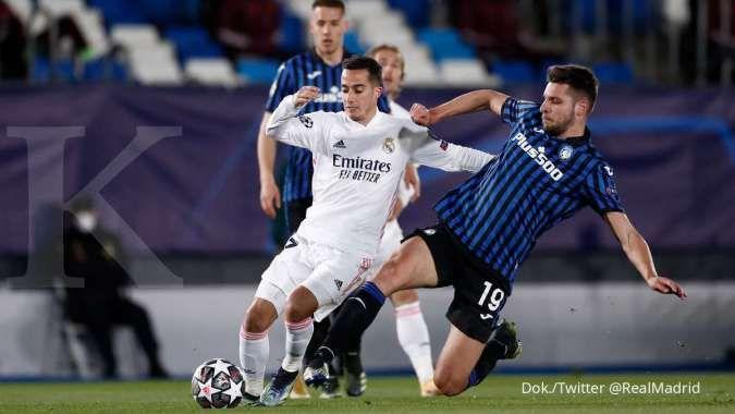 Real Madrid vs Atalanta: Bekuk La Dea 3-1, Los Blancos melaju ke perempat final