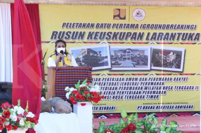 Kementerian PUPR bangun rusun Keuskupan Larantuka NTT dengan anggaran Rp 20,72 miliar