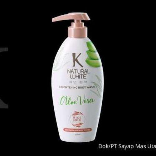 K Natural White, Sabun Perawatan Diri A La Korea Inovasi Wings Group Indonesia