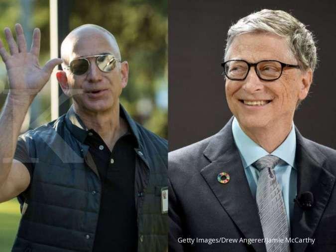 Bezos, Gates bahkan Buffett kehilangan puluhan triliun akibat kejatuhan Wall Street