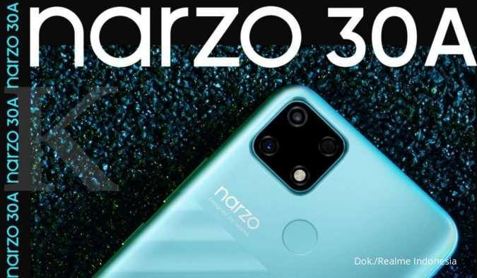 Spesifikasi & harga HP Realme Narzo 30A, baterai 6.000 mAh hanya Rp 1,8 jutaan