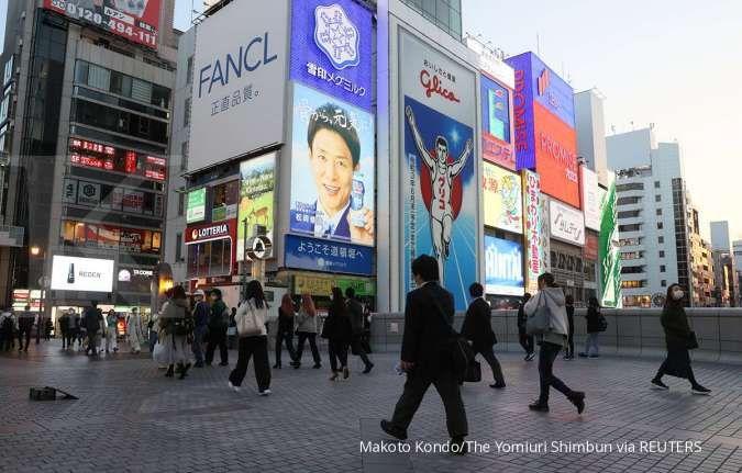 Pengeluaran rumah tangga Jepang tumbuh 6,2% yoy di bulan Maret 2021