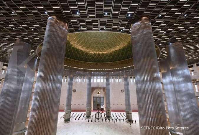 Masjid Istiqlal berencana gelar salat Tarawih dengan prokes di bulan Ramadan 2021
